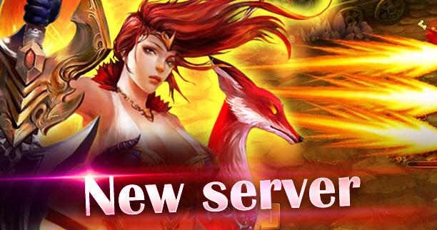 New server event
